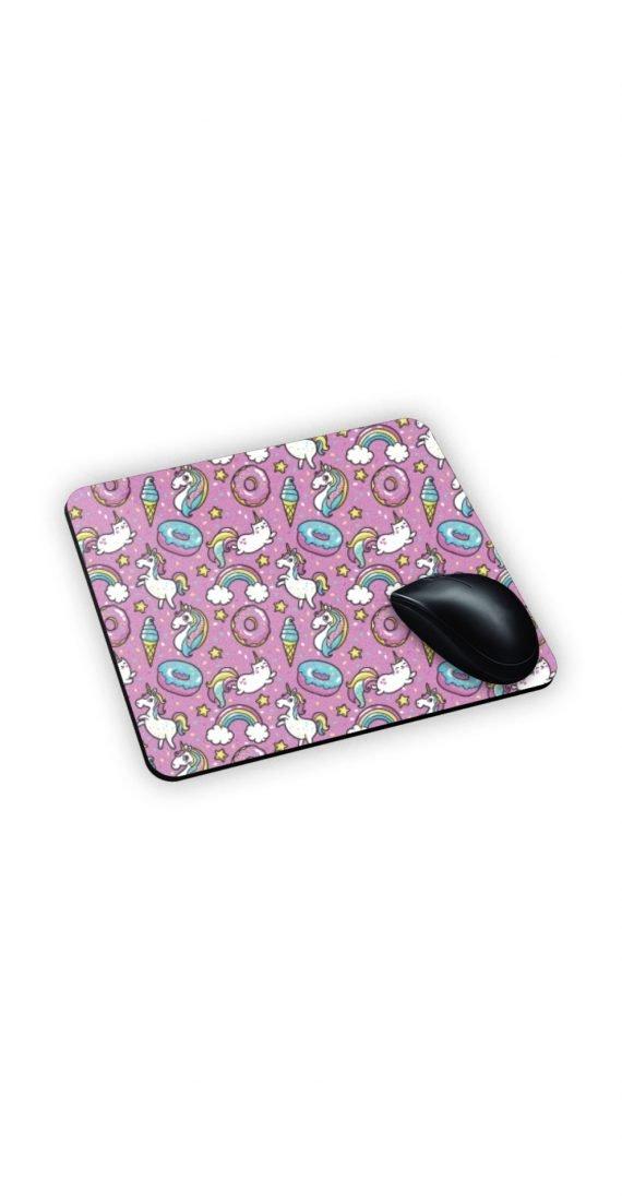 sotto mouse personalizzato rosa azzurro