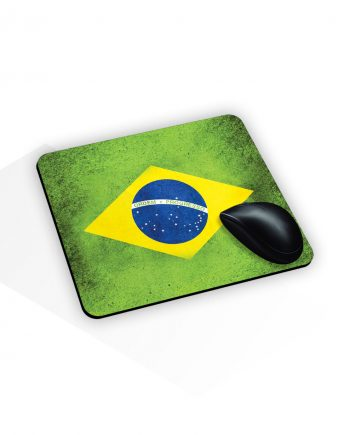 Tappetino mouse con stampa brazil