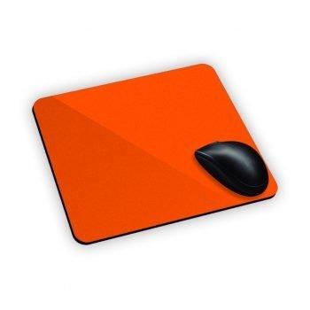 stampa mouse pad personalizzati tappetino mouse pad arancione