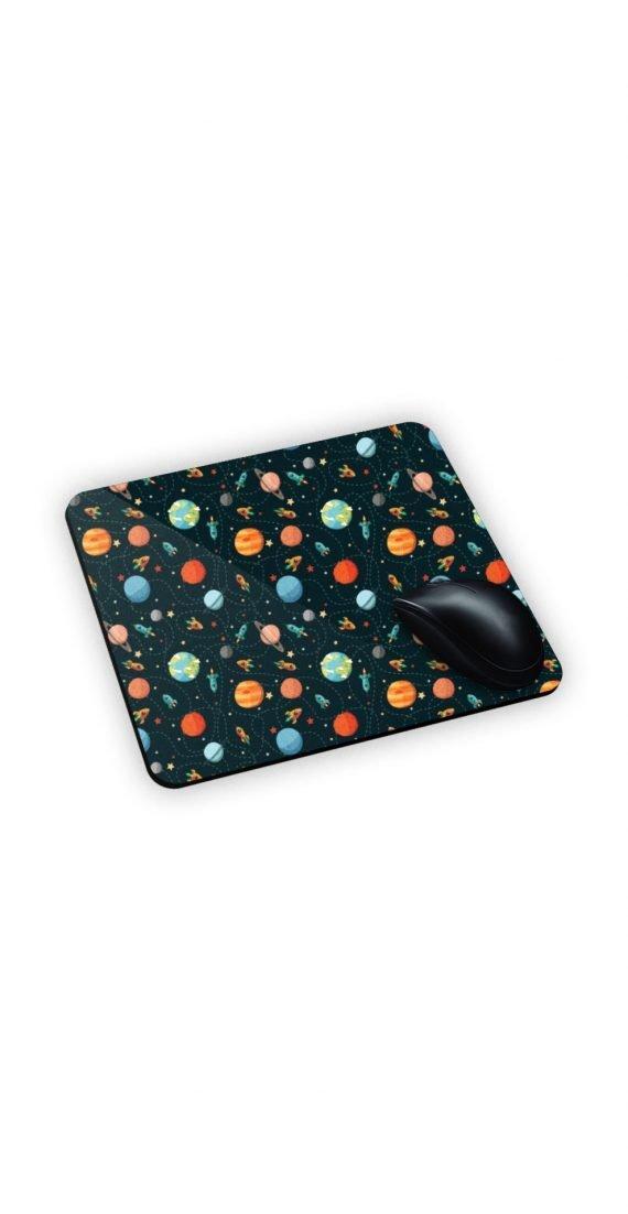 mouse pad personalizzato con pianeti e satelliti