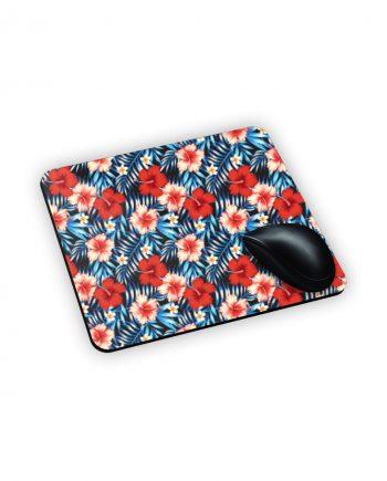 tappeto x mouse con sfondo a fiori