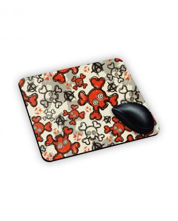 teschi su mouse pad personalizzato