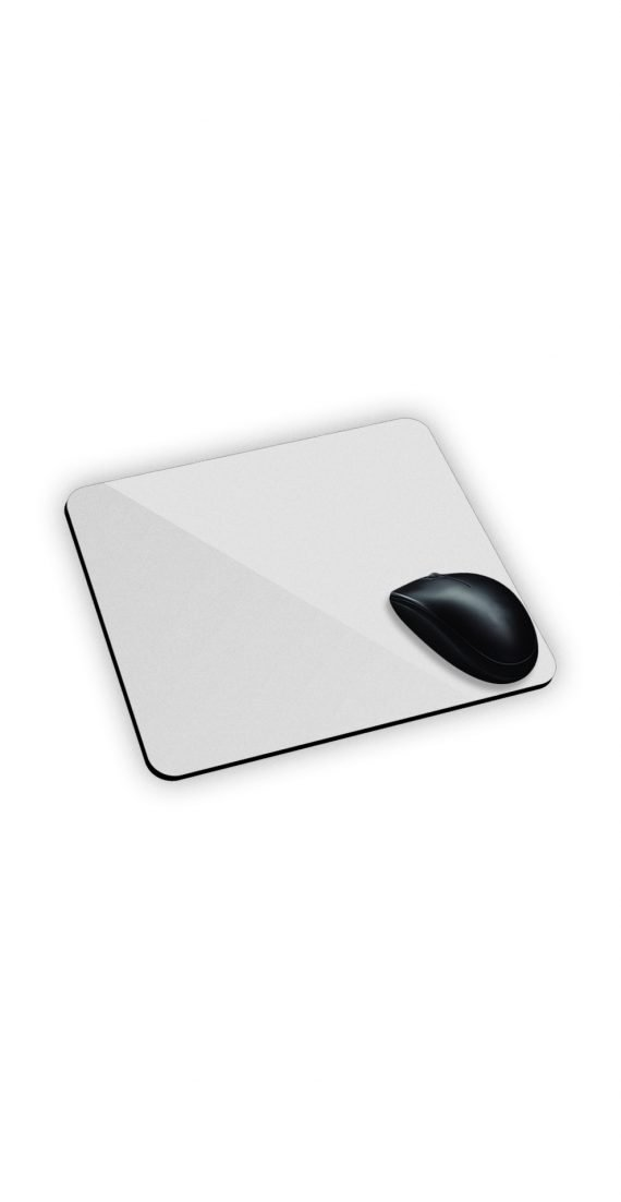 mouse pad elengante tappetino da mouse bianco