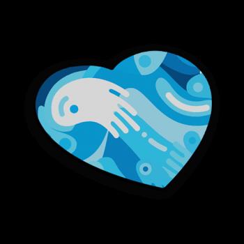 crea il tuo mousepad a forma di cuore